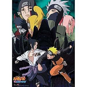 Naruto Shippuden: Naruto VS Sasuke Broken Bonds Anime Wall Scroll