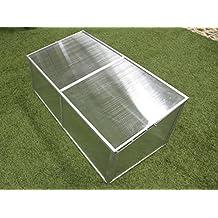 Zenport SH7005-ZD Folding Aluminum Cold Frame Greenhouse