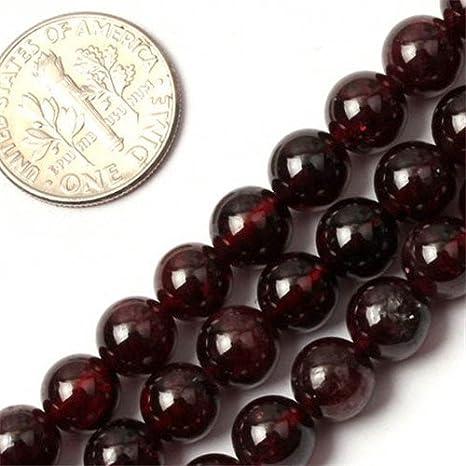A 4-8mm Natural Garnet gemstone,Rhodlite Crimson red round ball Loose beads strand for necklace bracelet,semi-preciou