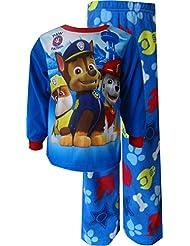 Paw Patrol Blue Fleece Toddler Pajamas for boys