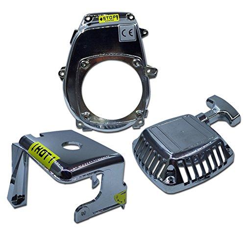 Zenoah Flywheel (TOP SPEED RC WORLD Chrome Engine Kit Fit Zenoah CY Engine for HPI BAJA RV KM 5B 5T 5SC)