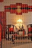 Beautiful Acrylic Beaded Curtain - Golden Balls