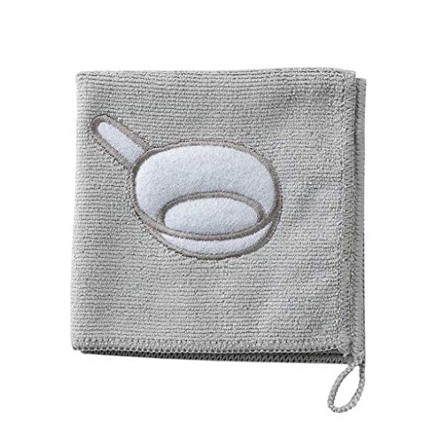 OrchidAmor Nonstick Oil Coral Velvet Hanging Hand Towels Kitchen Dishclout 2019]()