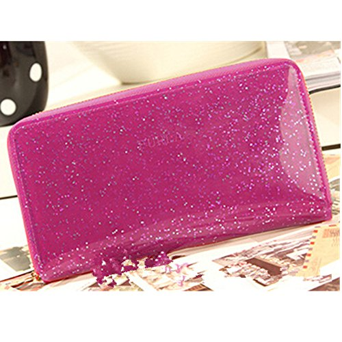 EVTECH(TM) Nouveau livre de style feuille rabat fermeture magnétique bourse de portefeuille de carte de portefeuille de crédit de carte d'identité Slots Rose PU cuir protecteur de la peau Skin Case Pr