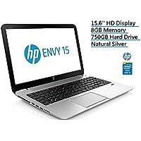 Newest HP Envy 15.6-inch Premium High Performance Laptop PC, Intel Core i5-3230M Processor, 8GB RAM, 750GB Hard drive, Webcam, Dural Core, Backlit LED, WiFi Natural Silver