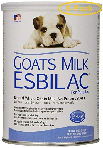 Pet Ag Goats Milk Esbilac Powder for Puppies 12 oz - Pack of 6 by Pet Ag
