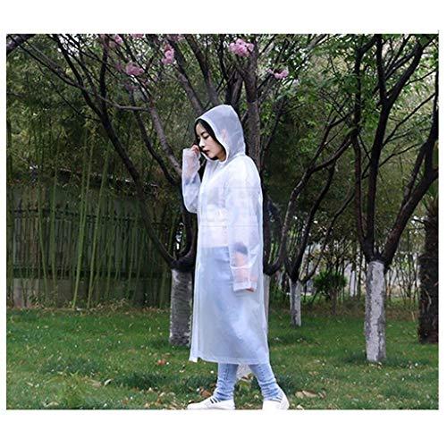 Libre De Ropa Trench Una Chaqueta Portátil Aire Yasminey Chic Transparente Con Lluvia Coat Capa Cordón Poncho 1 Al Impermeable gxOwzqH