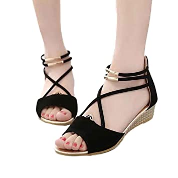 Women SandalsElevin(TM) Women Fashion Sandals Casual Shoes Flat Summer Open Toe Flip Flops
