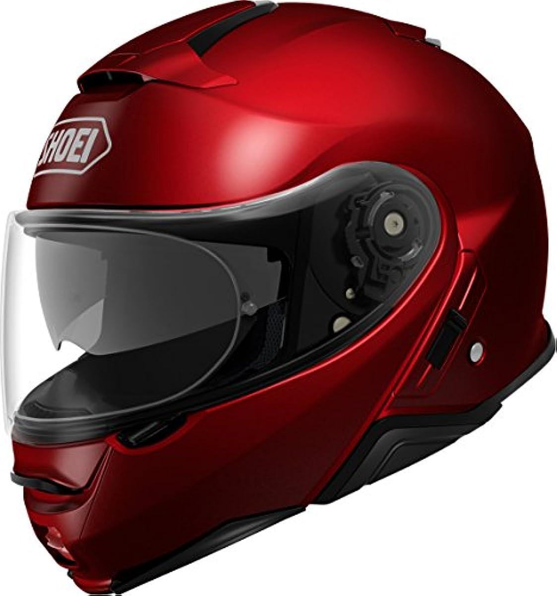 [해외] 쇼에이 오토바이 헬멧 시스템 풀 페이스 NEOTEC2 와인 레드 L 59CM -
