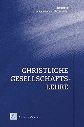 Christliche Gesellschaftslehre