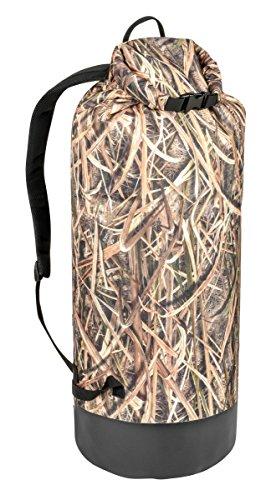 Mossy Oak Waterfowl Dry Bag, Mossy Oak Shadow Grass Blades, 65 Liter