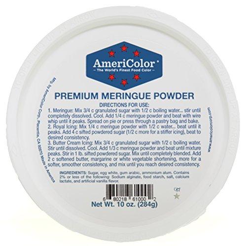 AmeriColor Premium Meringue Powder, 10 Ounce