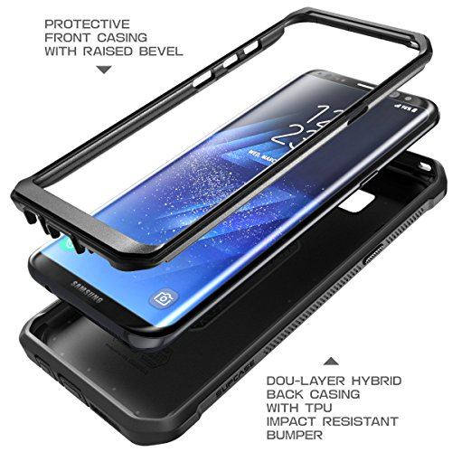 SUPCASE Galaxy S8 Case Full-body Rugged Holster Case WITHOUT Screen Protector for Galaxy S8 (2017 Release), Unicorn Beetle PRO Series - Retail Package (Black/Black) by SUPCASE (Image #3)
