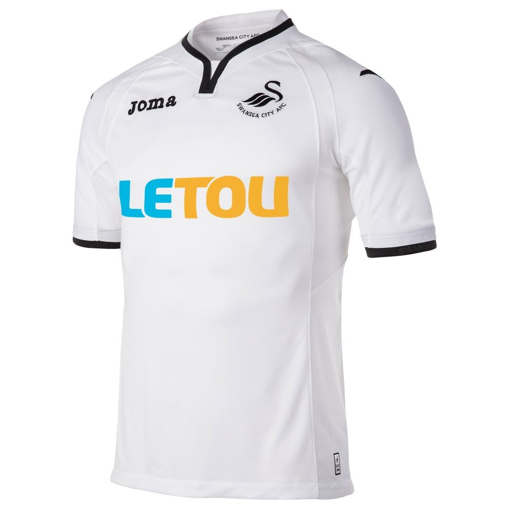 newest c5f11 07116 Swansea City Home Shirt 2017 2018: Amazon.co.uk: Sports ...