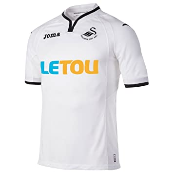 2017-2018 Swansea City Joma Home Football Shirt  Amazon.es  Deportes y aire  libre dd3ab458e0ae6