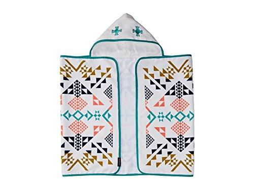 Pendleton Unisex Printed Hooded Baby Towel Ivory/Shared Spirits One Size