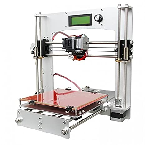 Geeetech Aluminum Prusa I3 3D Printer kit: Amazon.es: Industria ...