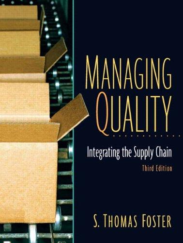 Managing Quality: Integrating The Supply Chain and Student CD PKG (3rd Edition)