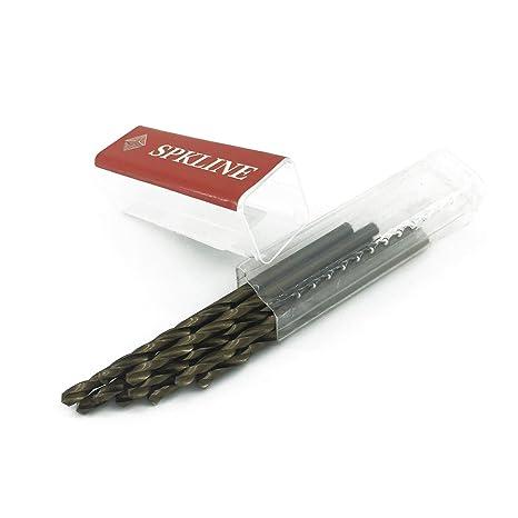 Amazon.com: SPKLINE - Juego de 10 brocas de acero de alta ...
