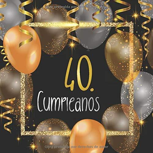40. Cumpleaños: Libro de invitados 40. cumpleaños - El ...