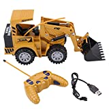 5 Channel Excavator RC Digger Remote Control Vehicle Toy