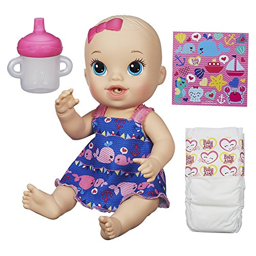Baby Alive Sips 'n Cuddles Doll little whales