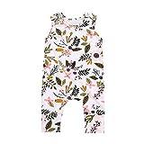 PLOT Baby Floral Leaf Romper Jumpsuit Clothes Bodysuit Clothing Outfit Apparel