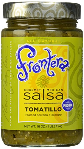 FRONTERA Gourmet Mexican Tomatillo Salsa, Medium, 16 oz. ()