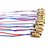 Tinksky WL Red 650nm 6mm 5V 5mW Mini Laser Dot Diode Module Heads pack of 10