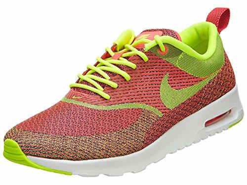 Nike Kvinders Air Max Thea Jcrd Qs Kører Undervisere 666545 Sneakers Sko, Hyper Stanse / Volt-sort-elfenben, 43 B (m) Eu / 8,5 B (m) Uk