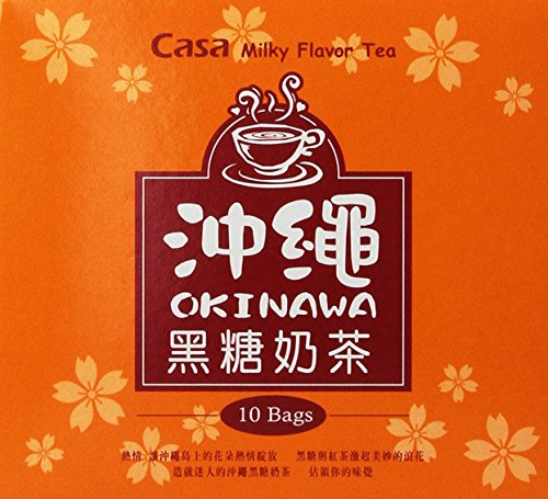 Casa Okinawa Brown Sugar Milk Tea 8.81 Oz (Pack of 1)