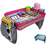 Kids Travel Tray - Car Seat Lap Tray for Children &...