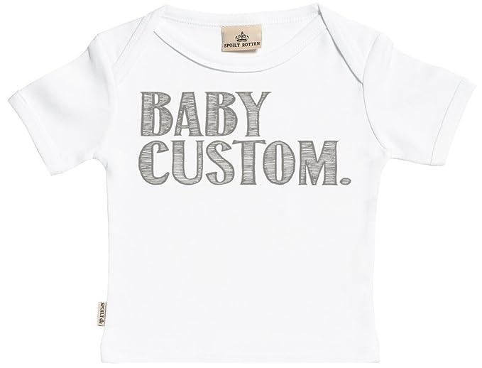 18da7cef1 SR - Personalised Baby Custom Baby T-Shirt - Personalised Baby T-Shirt -