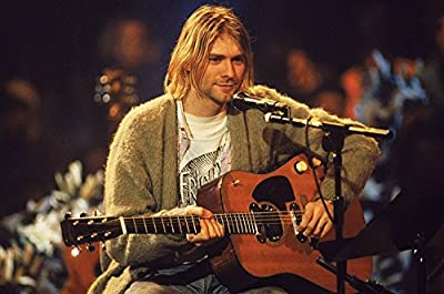 Kurt Cobain…Nirvana Musical Band Poster Print (12 x 18 inch, Rolled) By A-ONE POSTERS