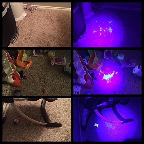 Black Light Flashlight 100 Led Ultra Violet Uv Light