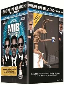 Men in Black/Men in Black 2/Men in Black 3 Giftset with Worm Figurine (Blu-ray + UltraViolet Digital Copies)