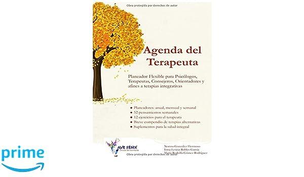 Agenda del Terapeuta: Planeador flexible para Psicólogos ...