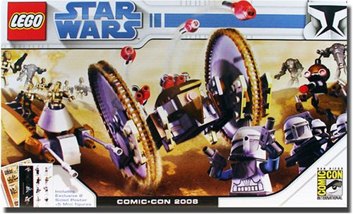 LEGO Star Wars Exclusive Limited Edition Set 2008 ComicCon Clone Wars #7670, #7654 with 4 Clone Troopers Captain Rex - Lego Star Wars Poster