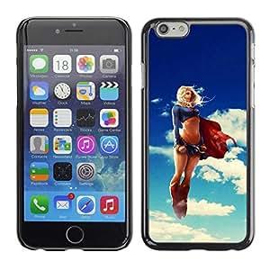 "Exotic-Star ( Funny Sexy Super Woman Superhero ) Fundas Cover Cubre Hard Case Cover para 5.5"" iPhone 6 Plus"