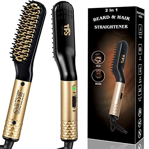 TFS Heated Beard Straightener Brus