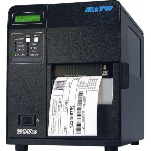 Sato WM8420011 Series M84PRO Industrial Thermal Printer, 203 dpi Resolution, 10 ips Print Speed, Parallel Interface, DT/TT, (Sato M84pro Barcode Printer)