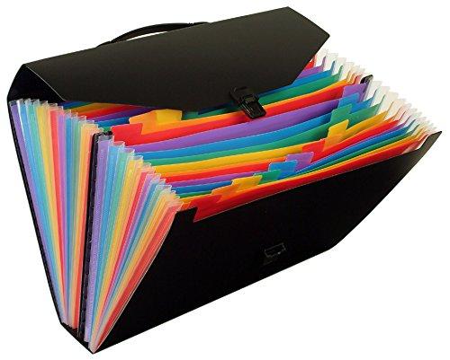 Viquel - Valigetta classificatore, colore arcobaleno, 24posizioni 117487-02