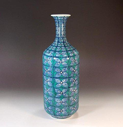 有田焼伊万里焼の陶器花瓶花文様|贈答品|ギフト|記念品|贈り物|陶芸家 藤井錦彩 B00LWVXI4Q