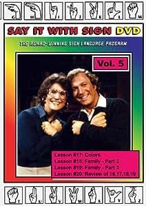 Sign Language Course - Vol. 5