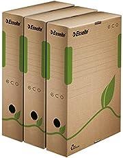 Scatole archivio Box Eco Esselte dorso8 - 8x23,3x32,7 cm 623916 (conf.25)
