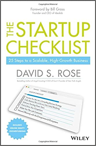 The Startup Checklist  Steps To A Scalable HighGrowth