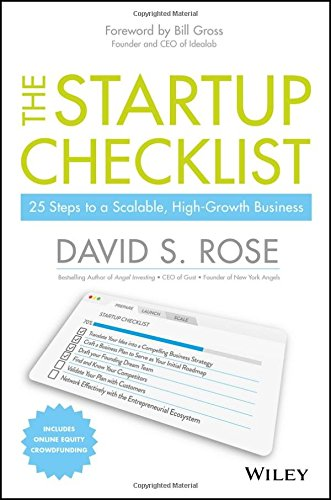 Startup Checklist Scalable High Growth Business