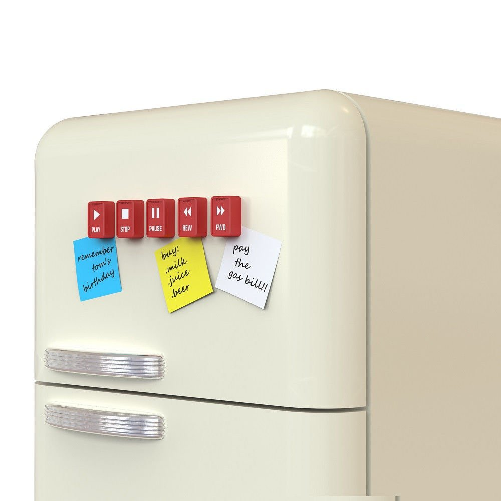 amazon com music inspired funny fridge magnets pushy button set rh amazon com