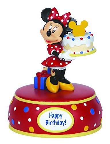 "Precious Moments, Disney Showcase Collection, Birthday Gifts, ""Minnie"