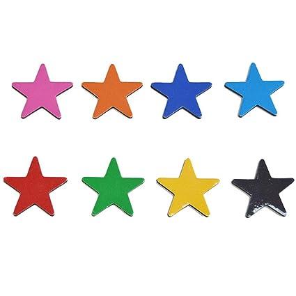 8pcs-coloridas imanes de nevera Oficina pizarras decorativo ...